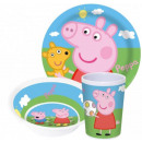 Kitchenware, melamine set Peppa Pig