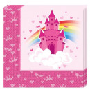 Rainbow Castle serviette 20 Pcs