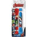 Avengers Flashlight + Pen Set