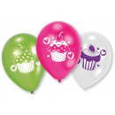 Cupcake, Muffin balloon, balloons with 6 pieces