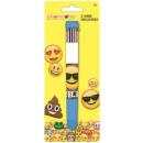 wholesale Pencils & Writing Instruments:Emoji 10 color pen