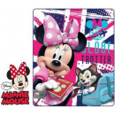 grossiste Articles sous Licence: Polar Couverture Disney Minnie 120 * 140cm