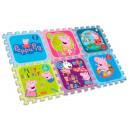 Peppa Pig Sponge Puzzle Mat 6pcs