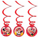 Disney Minnie  ribbon decoration three-piece set