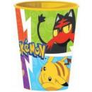 Pokemon verre, en plastique 260 ml