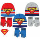 Children's hats & gloves set of Superman