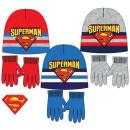 Children's hats & gloves set of Superman
