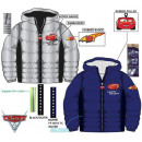 Kid Lined Jacket for Disney Cars , Verdas 3-8 Year