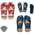 pantofole per bambini, flip-flop Paw Patrol, Paw P