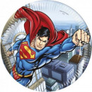 wholesale Licensed Products: Superman Paper Plate 8 x 23 cm