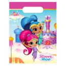 Shimmer and Shine Gift bag with 6 pieces