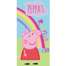 Peppa pig bath towel, beach towel 70 * 140cm