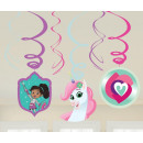 groothandel Woondecoratie: Nella The Princess Knight Ribbon Decoration 6 stuk