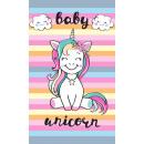 groothandel Bad- & handdoeken: Unicorn Handdoek gezichtshanddoek, handdoek 30 * 5