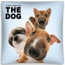 Großhandel Bettwäsche & Matratzen: Hund, The Dog  Kissenbezug 40 * 40 cm