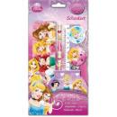 Stationery Set (6 pcs) Disney Princess , Princesse