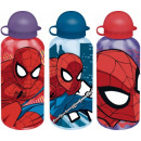 Aluminum water bottle Spiderman, Spiderman 500ml