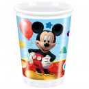 Disney Mickey Plastic bekers 8 stuks 200 ml