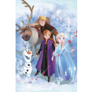 Disney Ice magic fleece Duvert 100 * 150cm