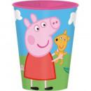 Peppa Pig glas, kunststof 260 ml