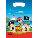 mayorista Regalos y papeleria: Piratas, pirata  Bolsa regalo 6 piezas