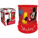 Projektor 2 w 1, światło nocne Disney Mickey
