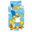 The Simpson family bedding is 140 × 200 cm, 70 × 9