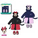Baby Bathrobe + Slipper Set Disney Minnie 9-24 Mon