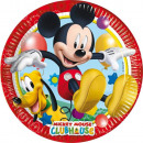 Disney Mickey Paper Plate 8-delig 23 cm