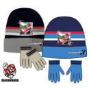 Czapka dziecięca Super Mario + rękawiczki 52-54 cm