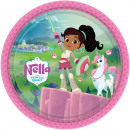 Nella The Princess Knight Paper Plate with 8 piece