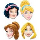 Disney Princess , Princess Mask, mask 4 pcs