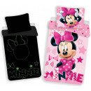 wholesale Bed sheets and blankets: Bedding that glows in the dark DisneyMinnie
