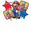 Super Mario Foil Balloons Set 5 Pieces