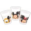 ingrosso Casalinghi & Cucina: Disney Tsum Tsum bicchiere di plastica 8 pezzi da