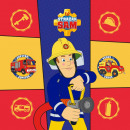 Sam the firefighter Magic Hand Towel face towel 30