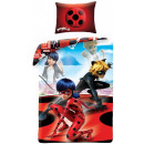 Miraculous Ladybug Bedding Cover 140 × 200cm, 70 ×