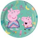 Großhandel Geschenkartikel & Papeterie: Peppa Pig , Peppa Schwein Papierfach 8 Stück 20 cm