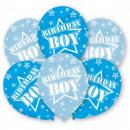 Happy Birthday Boy balloon, 6 balloons