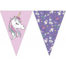 DisneyMinnie Unicorn flag garland