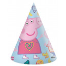 Peppa pig Party hat, pike 6 pcs