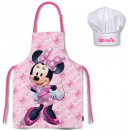 Kid's Apron 2 Piece Set for Disney Minnie