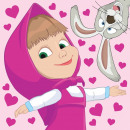 Magic Hand Towel Face Mash, Masha and the Bear