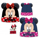 Kid's sequined knit hat DisneyMinnie