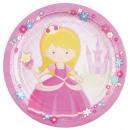 il mio Princess , My Princess Piatto di carta 8 pe