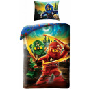 LEGO Ninjago beddengoed hoes is 140 × 200 cm, 70 ×