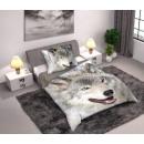 Wolf woolen linen 140 × 200cm, 70 × 90 cm