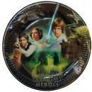 Star Wars  Pappteller 8-teilig 23 cm