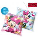 DisneyMinnie Poduszka dekoracyjna podświetlana LED