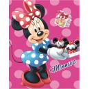 DisneyMinnie fleece Duvert 120 * 150cm